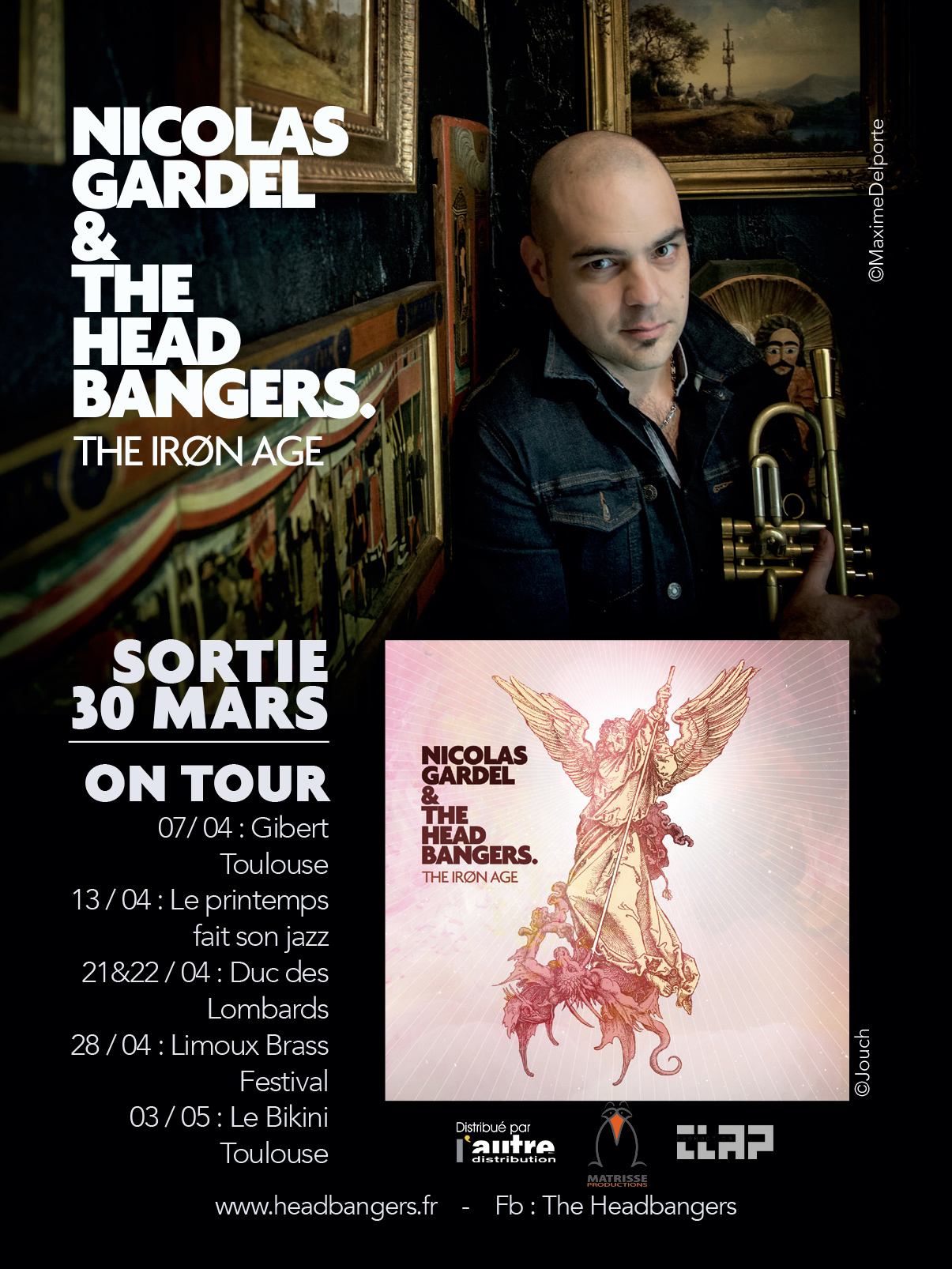 Nicolas Gardel The Headbangers